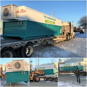 24 foot TommyKnocker being shipped from the ON2 Manufacturing Facility